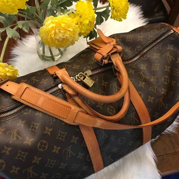 106939dd4ec Louis Vuitton Handbags - LOUIS VUITTON KEEPALL 50 BANDOULIERE MONOGRAM BAG
